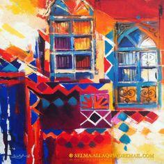 الفنانة العراقية سلمى العلاق