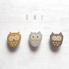 Little owl earring