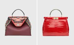 zaha hadid designs peekaboo bag for fendi charity