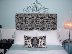"tiffany blue bedroom decorating ideas | ... Guest Room Repost, Black and White ""Tiffany"" Bedroom, Bedrooms Design"