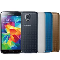 Samsung Galaxy S5 G900F - 16/32GB - Black/Blue/White/Gold - (UNLOCKED/SIM FREE) #Samsung #Smartphone