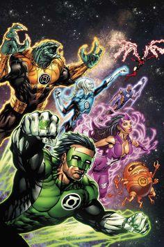 Green Lantern Guardians by Tyler Kirkham