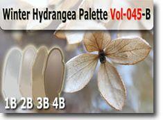 Winter Hydrangea Palette by Polymer Clay Tutor