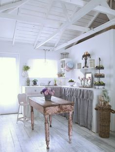 shabby chic-ish kitchen