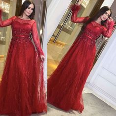 Long Sleeve Evening Dresses, Prom Dresses Long With Sleeves, A Line Prom Dresses, Wedding Dresses, Feather Prom Dress, Beaded Prom Dress, Occasion Dresses, Red, Mermaid