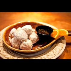 Another Broken Egg Cafe 601.790.9170 Warm up this morning with our Biscuit Beignets @renaissanceatcolonypark #shoprenaissance @anotherbroken...