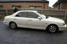 Make: Hyundai Model: Grandeur Body Type: Sedan Year: 2000 Mileage (Km): 172000 Transmission: Automatic Air Conditioning: Yes Registered: No Fuel Type: Petrol - Unleaded Colour: White    Price: $5500.00