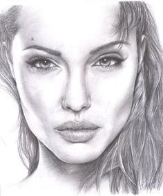 Angelina Jolie by Silclov.deviantart.com on @deviantART