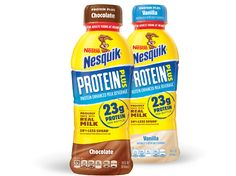 New Nesquik drinks target fitness fans who are young at heart