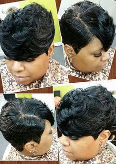 ... 27 Piece Hairstyles, Short Sassy Haircuts, Cute Hairstyles For Short Hair, Pixie Hairstyles, Short Hair Cuts, Curly Hair Styles, Natural Hair Styles, Pixie Cuts, Short Pixie