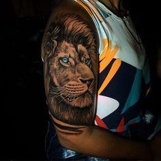 Preto e Cinza na tatuagem: 31 artistas brasileiros para seguir - Blog Tattoo2me Blog, Tattoos, Animals, Black And Grey Tattoos, Black Style, Solid Black Tattoo, Dibujo, Artists, Art