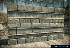 Aztec Wall by Mellon3D