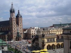 Main Market Place Old City Part Kraków ~ Poland