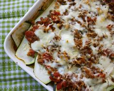 Vegetarian zucchini lasagna because let's face it, we always need to find new uses for the prolific summer squash.
