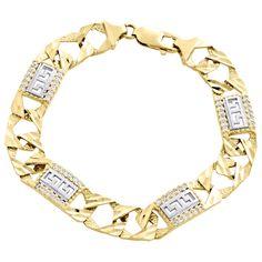 Today you can save 68% on this amazing Diamond Cut Texture Figaro Link Greek Key bracelet!  https://www.ebay.com/itm/10K-Yellow-Gold-Diamond-Cut-Texture-Figaro-Link-11mm-Greek-Key-Fancy-Bracelet-9-/362011947378?hash=item544997f172 . . . . . #atlanta #vintage #diamonds #platinum #ring #jewelry #gold #shopping #class #style #fashion #gems #unique #diamondsareforever #pendant #luxury #atlantamade #engagement #love #diamonds #holiday2017 #lifestyle #xmas #gifts #groom #bride #christmas