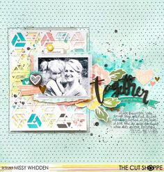 The Cut Shoppe DT Project - featuring the At An Angle cut files; Simple Stories I AM collection, A Flair For Buttons, American Crafts Dear Lizzy Thickers