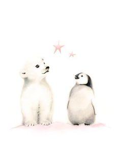 Super Doux Peluche couverture couverture couverture Pingouin avec bébé 150x200cm Soft comme fourrure