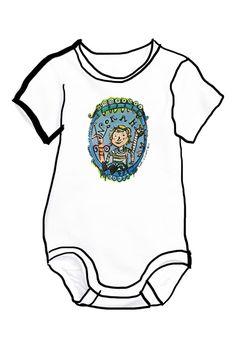 Cadeau de naissance, petit body perso illustré par Pauline Lugon Onesies, Kids, Clothes, Fashion, Switzerland, Painted Canvas, Objects, Children, Young Children