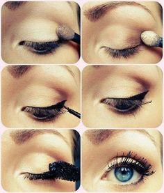 Elegant natural beauty makeup