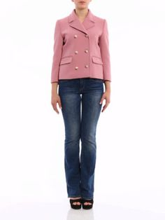 Gucci: online Blazer - Giacca doppiopetto in lana stretch
