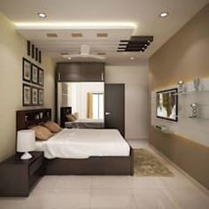 Browse images of modern Bedroom designs_ 4 bedroom apartment at SJR Watermark. Find the best photos for ideas & inspiration to create your perfect home. House Ceiling Design, Ceiling Design Living Room, Bedroom False Ceiling Design, Living Room Designs, Modern Ceiling Design, Fall Ceiling Designs Bedroom, Bedroom Ceiling, Ceiling Lights, Living Rooms