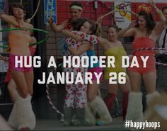 """We declare January 26 """"Hug A Hooper Day"""" help get the word out!!"""