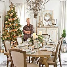 Elegant Christmas Dinner Party | Elegant Christmas Party | SouthernLiving.com