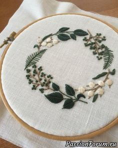 hand embroidery stitches tutorial step by step Hand Embroidery Tutorial, Hand Embroidery Stitches, Crewel Embroidery, Embroidery Hoop Art, Hand Embroidery Designs, Embroidery Letters, Broderie Simple, Diy Broderie, Sewing Crafts