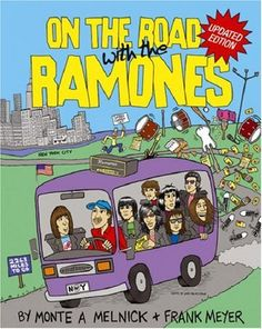 On The Road With The Ramones (revised edition) by Monte A. Melnick,http://www.amazon.com/dp/1847721036/ref=cm_sw_r_pi_dp_SnXksb1HABBYPYEJ