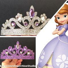 Princess Sofia CrownRapunzel CrownTangledSofia by ChloeStudio