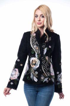 """Жакет """"Аксинья"""" - Юкостайл. Магазин дизайнерской одежды оптом и в розницу."""