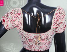 unnamed (6) Zardosi Embroidery, Beaded Embroidery, Sari Blouse Designs, Blouse Patterns, Maggam Works, Siri, Work Blouse, Saree Blouse, Wedding Designs