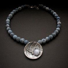 Necklace by Anna Fidecka- FIANN - biżuteria autorska - Art Clay & Polymer Clay