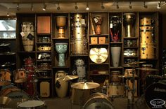 Our New Drum Room!! Stop by and play or visit us online at GoDpsMusic.com