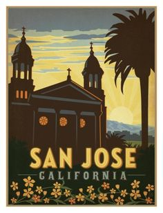 San Jose California Art Print