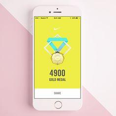 Works of Danny Jones Mobile Ui Design, App Ui Design, Web Design, App Badges, Ios, Sports App, Ui Inspiration, Game App, Motion Design