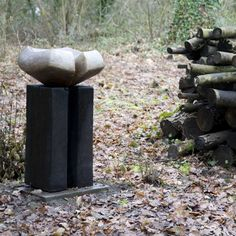 """""""Basically these birdbaths derive from a great love of landscapeand the man-made cairns that feature in hills and mountains. Tibetan stupas are cairn-like shrines and I remember also being struck..."""