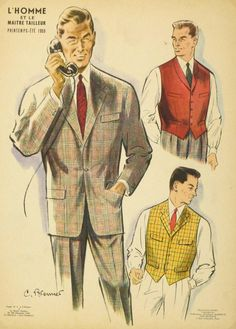 https://www.chairish.com/product/244083/vintage-french-mens-fashion-lithograph-1958