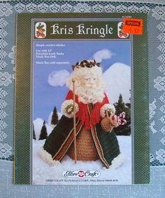 Hey, I found this really awesome Etsy listing at https://www.etsy.com/listing/204296892/kris-kringle-crochet-pattern-leaflet