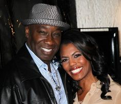 Omarosa Manigault and Michael Clarke Duncan were planning a January Wedding...http://www.examiner.com/article/omarosa-manigault-and-michael-clarke-duncan-were-planning-a-january-wedding