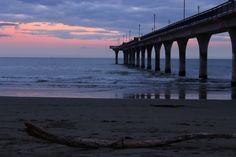 What happens after a tsunami hits?  New Brighton Beach - 15.11.2016