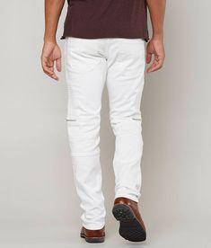 Moto Jeans, Men's Jeans, Fly Shoes, Men Clothes, Lycra Spandex, Stretch Jeans, Stretch Fabric, White Jeans, Biker