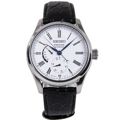 Gents Watches, Seiko Watches, Watches For Men, Seiko Presage, Chronograph, Watches Online, Automatic Watch, Stainless Steel Case, Omega Watch