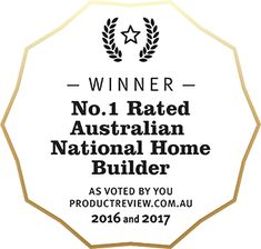 Winner Best National Home Builder 2016 and 2017 Product Review