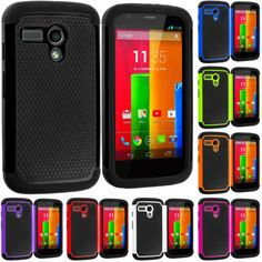 #ebay For Motorola Moto G Hybrid Hard Rugged Shockproof Matte Case Cover Accessory - $4.99 (save 37%) #cell #phone #accessories