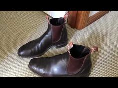 RM Williams Comfort Craftsman Boots - 5 years on. Rm Williams, Old Boots, Business Attire, Craftsman, Chelsea Boots, Women Wear, Footwear, 5 Years, How To Wear