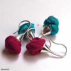 orecchini in stoffa - Cerca con Google