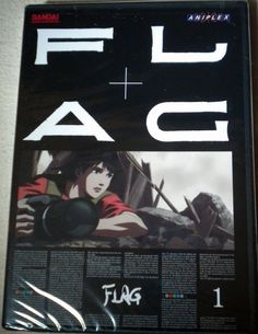 FLAG - Vol. 1 (DVD, 2007) Anime video Japanese & English Audio Bandai Rated 13+