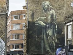 Faith 47, Leonard Street, EC2A. | 26 Stunning Street Art Murals You Can See In East London Right Now