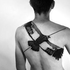 Andean condor     thanks for the help @_georgiewilliams_ #blackworktattoo #andeancondor